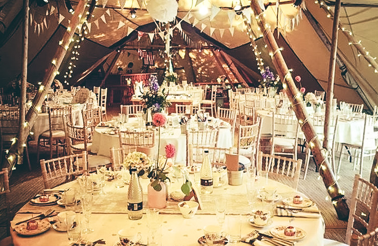 weddings and tea party venue dressing, Cheshire, Manchester & north west